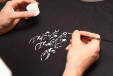 Ръчно рисувани тениски с коне